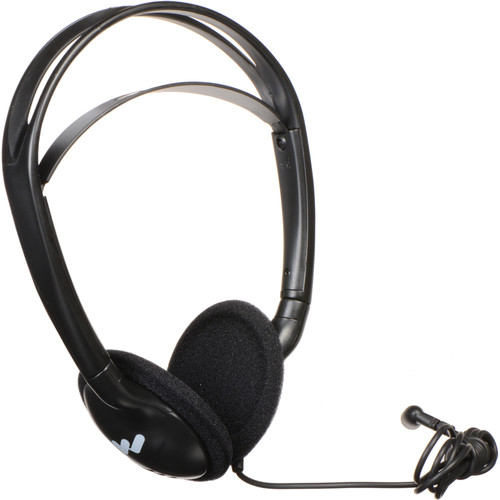 Williams Sound HED 027 Heavy-Duty Folding Mono Headphones