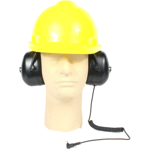 Williams Sound Hearing-Protector/Dual-Muff Headphones for Under A Hard Hat - Adult Size