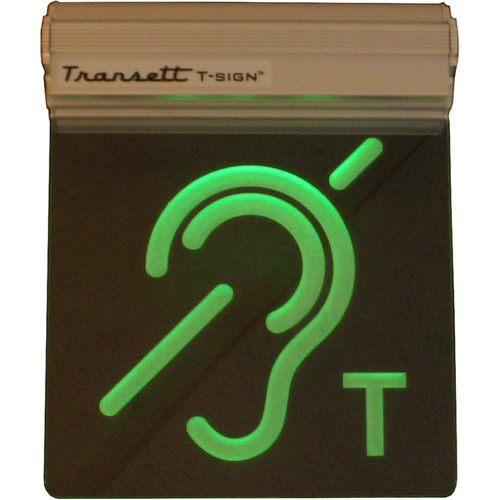 Williams Sound Lighted Induction Loop Status Sign - Green or Red Depending PER Loop Signal Strength