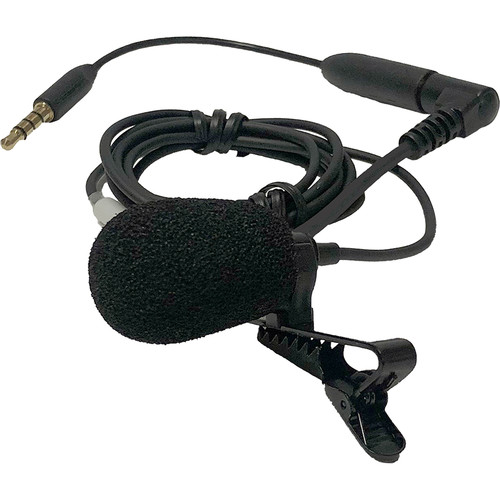 Williams Sound Directional, Cardioid Lapel Clip Microphone for DW DLT 400 Transceiver Only