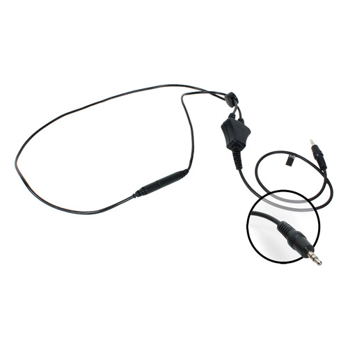 "Williams Sound 18"" Stereo Neckloop with 3.5mm Stereo Plug for Pocketalker 2.0 Amplifier"