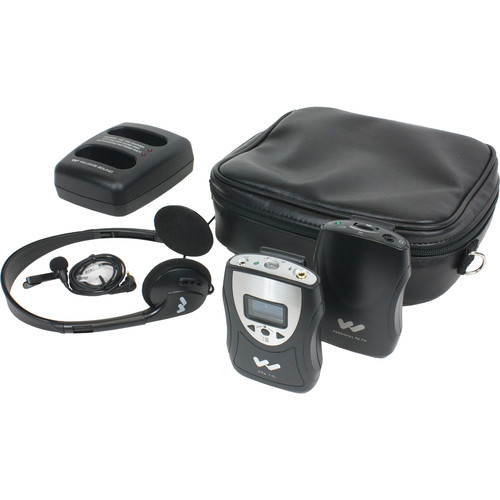Williams Sound PFM PRO Rechargeable Personal FM Listening System with Rechargeable Batteries