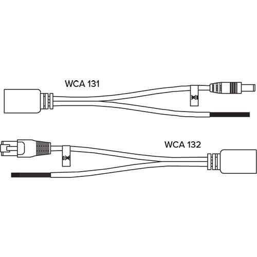 Williams Sound POE KT2 IR T2 Infrared Transmitter POE Wiring Kit
