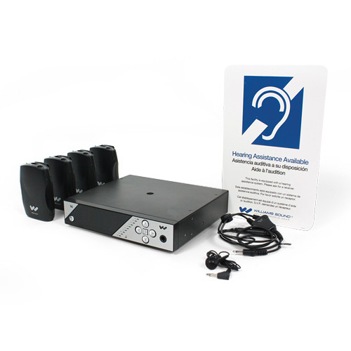 Williams Sound PPA 457 NET Personal PA FM Assistive Listening System