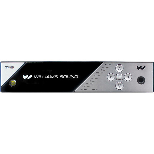 Williams Sound FM Transmitter with Network Control & Dante Input