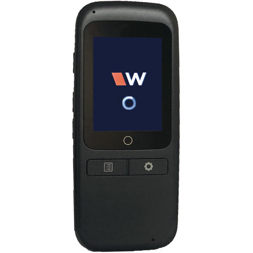 Williams Sound Wavecast Wi-Fi Receiver with Touchscreen Interface with Ear 022 Earphone and  WF ACC PAC