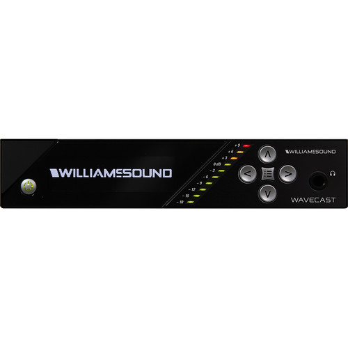 Williams Sound WaveCAST Dante - 1-Channel Audio Streaming Over Wi-Fi with Dante Input