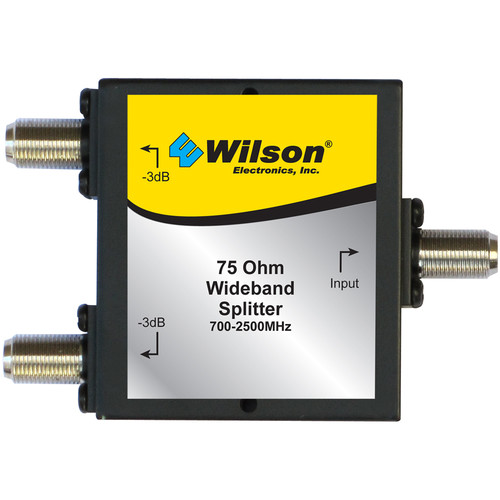 Wilson Electronics 2-Way Splitter with F-Female Connectors