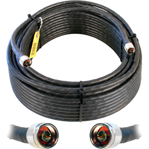 Wilson Electronics WILSON400 N-Male to N-Male Cable (100', Black)