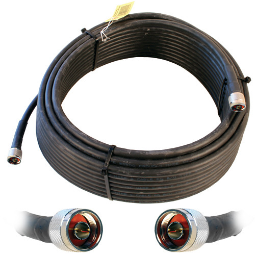 Wilson Electronics WILSON400 N-Male to N-Male Cable (75', Black)