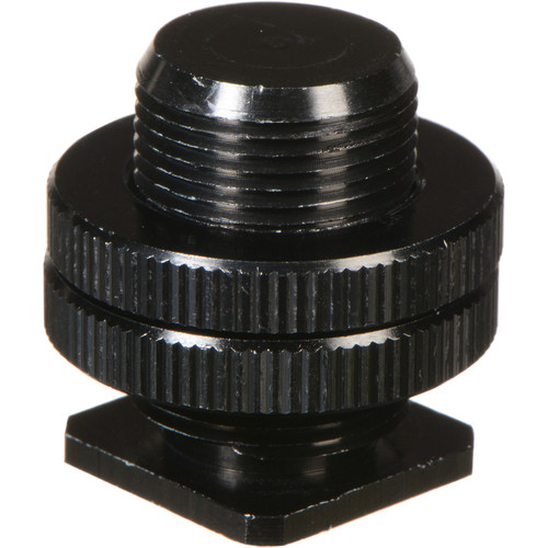 "WindTech CM-58 Hot Shoe to 5/8""-27 Microphone Adapter (Black)"