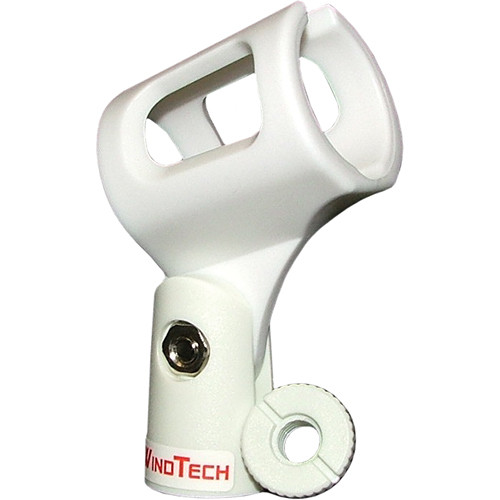 WindTech MC-2 Microphone Clip (White)
