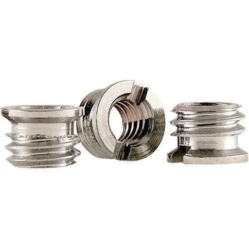 "WindTech 3/8""-16 Female to 1/4""-20 Female Thread Adapter (3-Pack)"