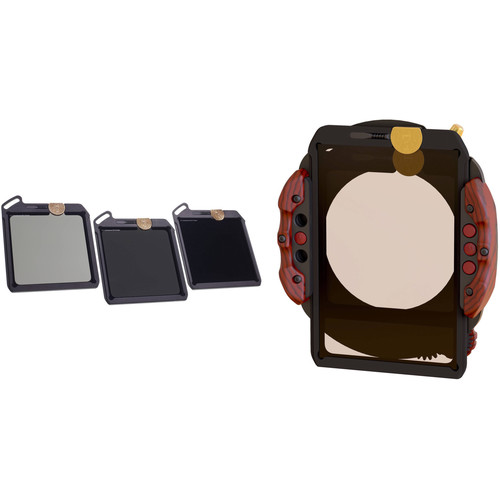 Wine Country Camera 100 x 100mm Blackstone IRND Filter Kit and Filter Holder Kit with 77mm Adapter Ring