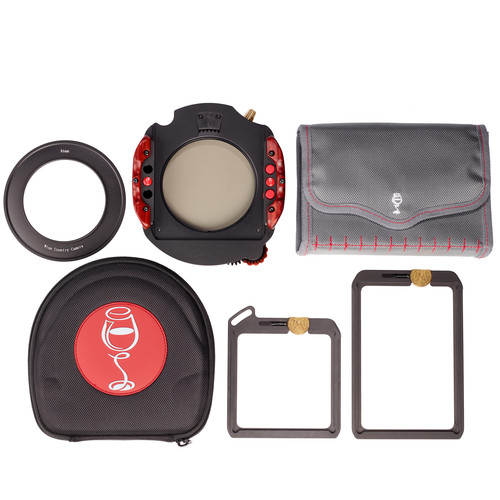 Wine Country Camera 100mm Filter Holder Kit - 1 ND Vault, 1 Grad Vault, Polarizer, 95 mm Adapter