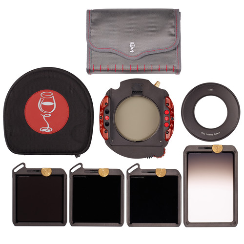 Wine Country Camera 100 x 100mm Master 5-Filter & Holder Kit with 49mm Adapter Ring