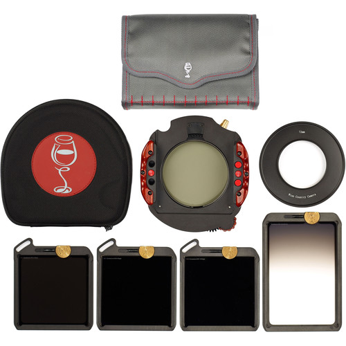 Wine Country Camera 100x100mm Master 5-Filter Kit/ Pola/ND 3, 6 & 10 Stops/ Grad ND 2-Stop SE/ Holder/ 72mm Adapter