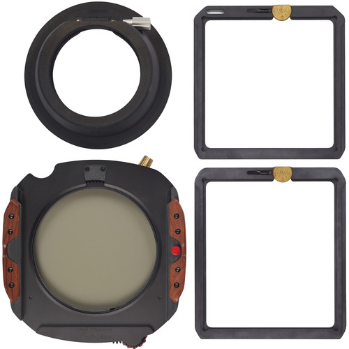 Wine Country Camera 150mm Filter Holder Kit with Sigma 12-24mm Lens Adapter Ring, Drop-in Circular Polarizer Filter, 150 x 150mm Blackstone IRND 1.8 Filter (6-Stop) and 150 x 170mm Blackstone Soft-Edge Graduated IRND 0.6 Filter (2-Stop) w/Filter Vaults