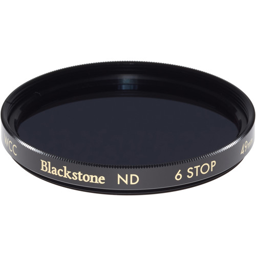 Wine Country Camera 49mm Blackstone Infrared Neutral Density 1.8 Filter (6-Stop)