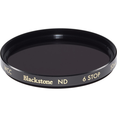 Wine Country Camera 52mm Blackstone Infrared Neutral Density 1.8 Filter (6-Stop)