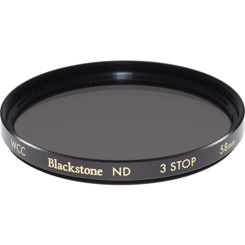 Wine Country Camera 58mm Blackstone Infrared Neutral Density 0.9 Filter (3-Stop)