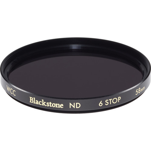 Wine Country Camera 58mm Blackstone Infrared Neutral Density 1.8 Filter (6-Stop)
