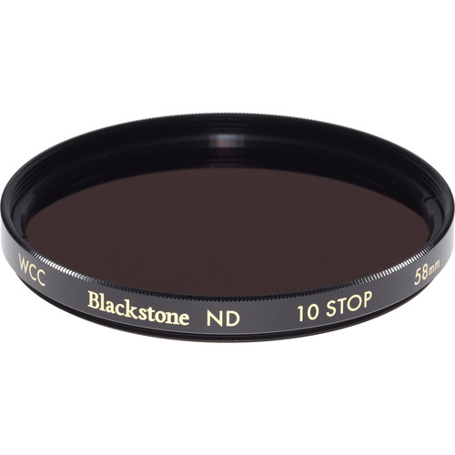 Wine Country Camera 58mm Blackstone Infrared Neutral Density 3.0 Filter (10-Stop)