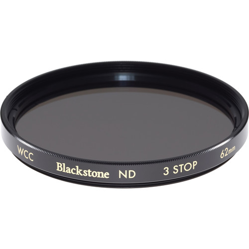 Wine Country Camera 62mm Blackstone Infrared Neutral Density 0.9 Filter (3-Stop)