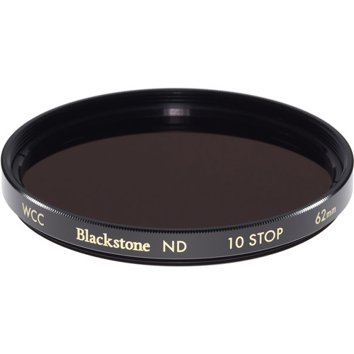 Wine Country Camera 62mm Blackstone Infrared Neutral Density 3.0 Filter (10-Stop)