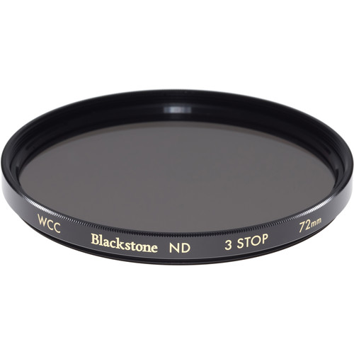 Wine Country Camera 72mm Blackstone Infrared Neutral Density 0.9 Filter (3-Stop)