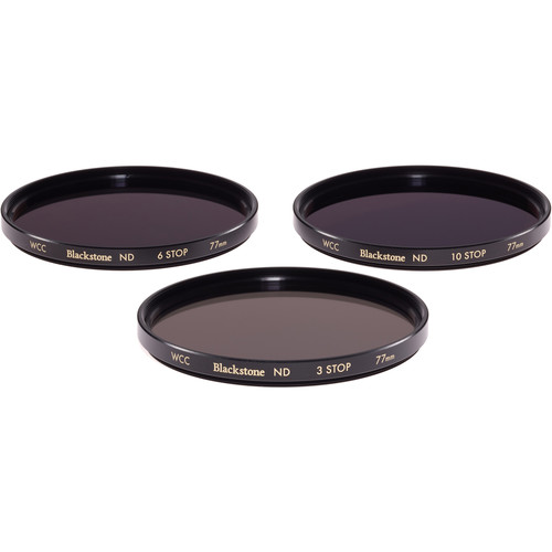 Wine Country Camera 77mm Blackstone Infrared Neutral Density Filter Kit