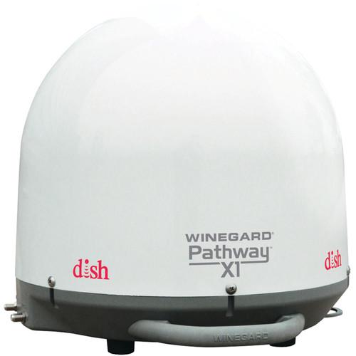 Winegard Pathway X1 Antenna with ViP 211z Receiver (White)