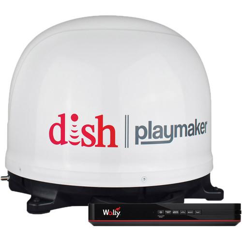 Winegard Dish PlayMaker Portable Automatic Satellite TV Antenna Bundle