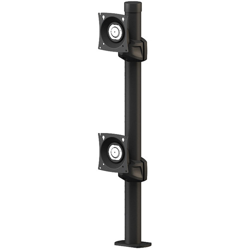 """Winsted Prestige Dual Stationary Monitor Mount (28.5"""" Post)"""