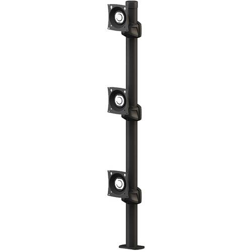 "Winsted Prestige Triple Stationary Monitor Mount (42"" Post)"