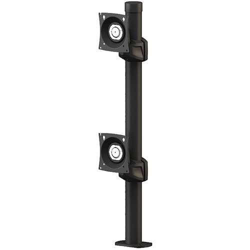 "Winsted Prestige Dual Stationary Monitor Mount (28.5"" Post)"