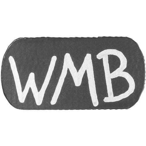Wireless Mic Belts WMB Label Beltpack Labeling Tab (Black, 20-Pack)