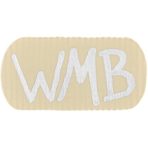 Wireless Mic Belts WMB Label Beltpack Labeling Tab (Tan, 20-Pack)