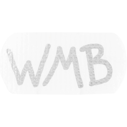 Wireless Mic Belts WMB Label Beltpack Labeling Tab (White, 20-Pack)