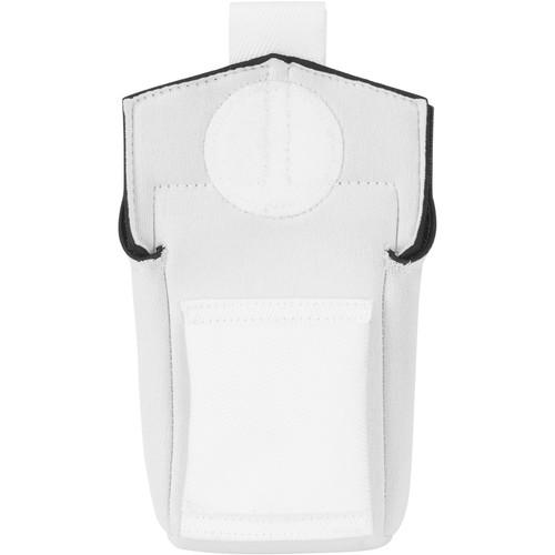 Wireless Mic Belts Belt Pac v2 for Audio-Technica UniPak Transmitter (White)
