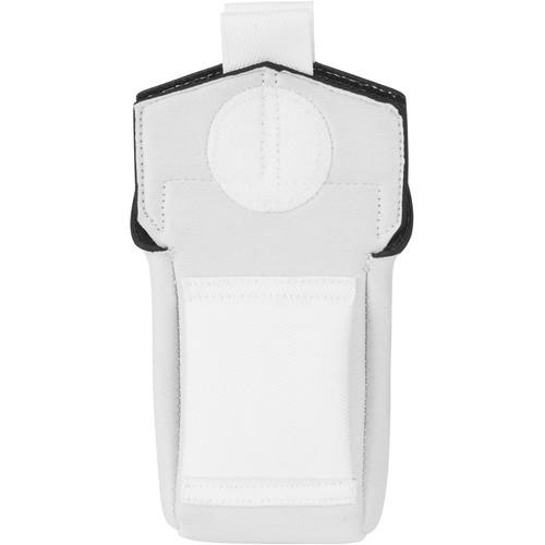 Wireless Mic Belts Belt Pac v2 for Shure ULXD1 Transmitter (White)