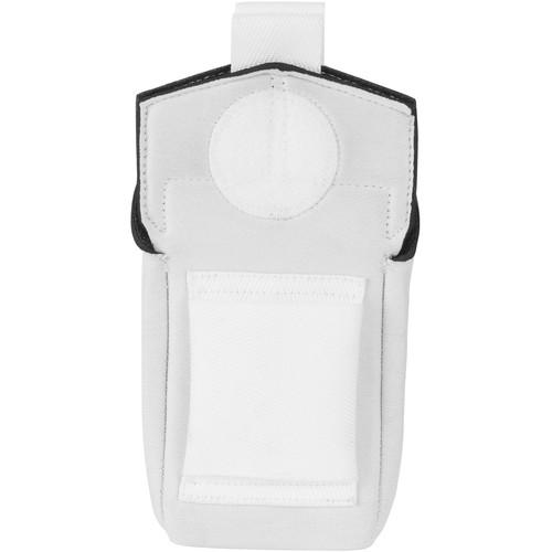 Wireless Mic Belts Belt Pac v2 for Sennheiser G4 & G3 Transmitter (White)