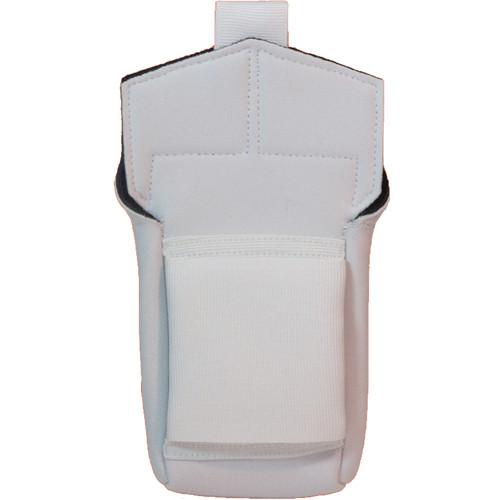 Wireless Mic Belts Belt Pac for Shure ULXD Digital Wireless (White)