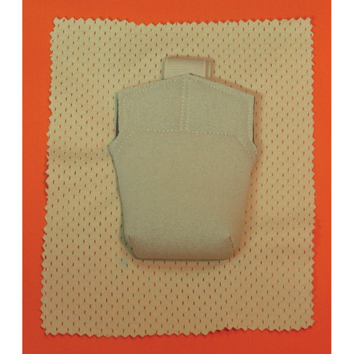 Wireless Mic Belts Sew-In Pac for Shure UR1M Micro-Bodypack Transmitter (Tan)