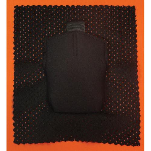Wireless Mic Belts Sew-In Pac for Sennheiser 5212 Bodypack Transmitter (Black)