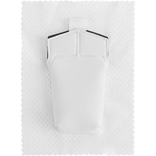 Wireless Mic Belts SW-AT-PRO Sew-In Pac for Audio-Technica UniPak Transmitter (White)