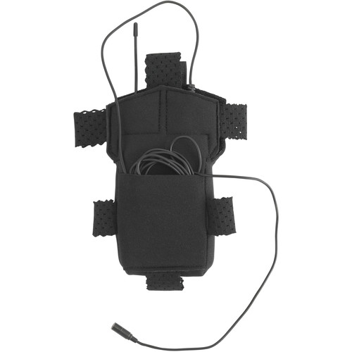 Wireless Mic Belts Wig Pac for Sennheiser G4/G3 Transmitter (Black)