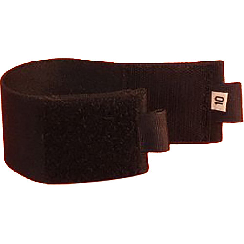 "Wireless Mic Belts Ankle Belt for Wireless Transmitters and Receivers (10"", Black)"