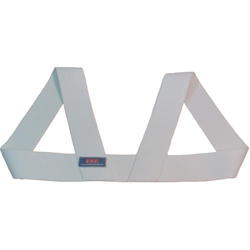 Wireless Mic Belts WMB Shoulder Harness (Large, White)