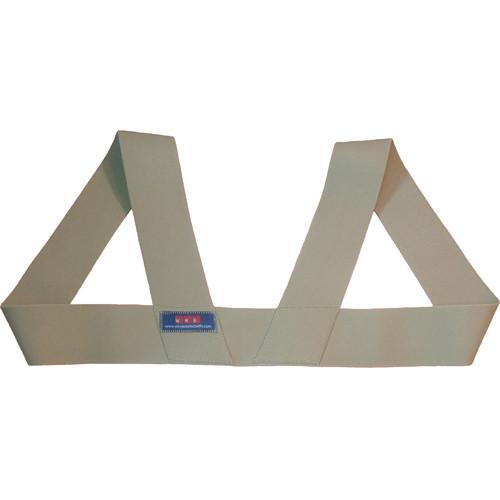 Wireless Mic Belts WMB Shoulder Harness (Medium, Tan)